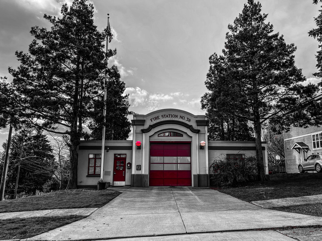 Fire Station No. 38 by cristinaledesma33