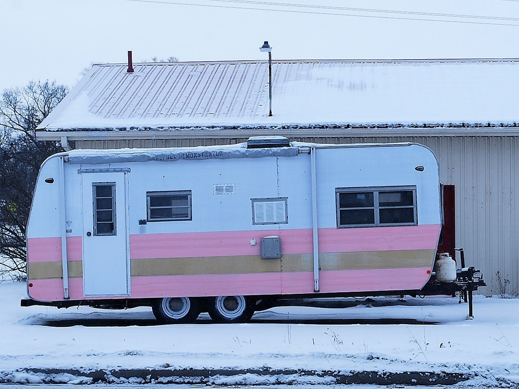 Old Camping trailer by stillmoments33