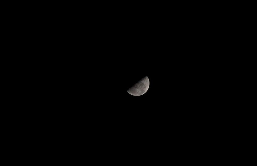 First quarter moon in Scorpio  by motherxmind
