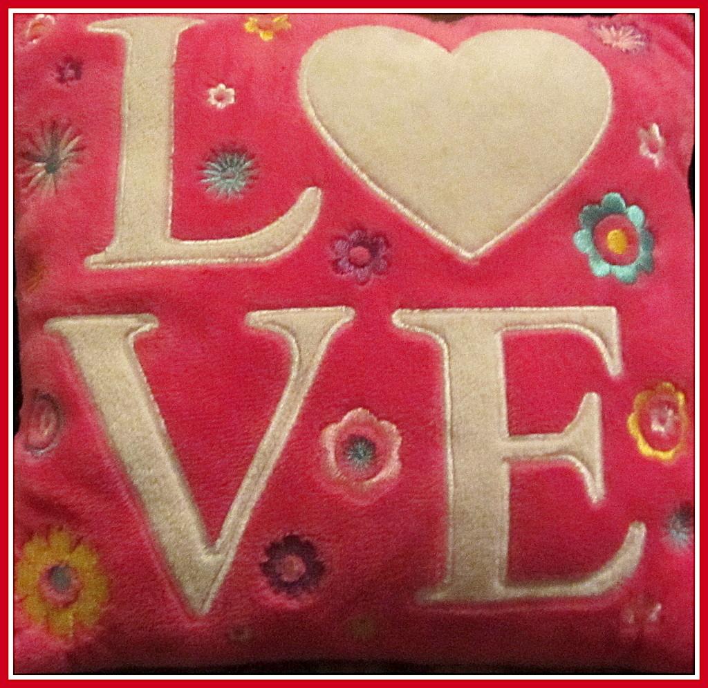 A cushion. by grace55