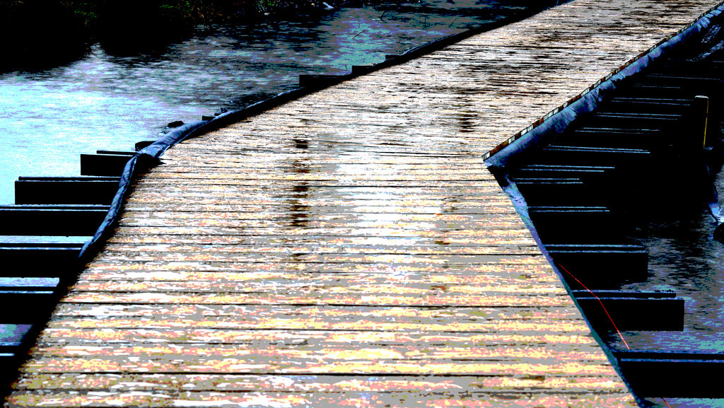 Boardwalk Posterize by moonbi