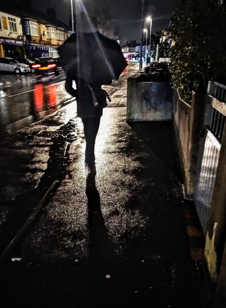 Rainy night by boxplayer