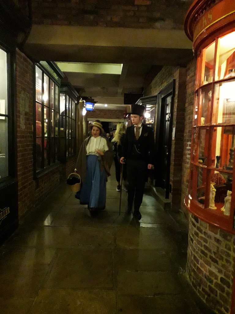 York museum street scene by mave