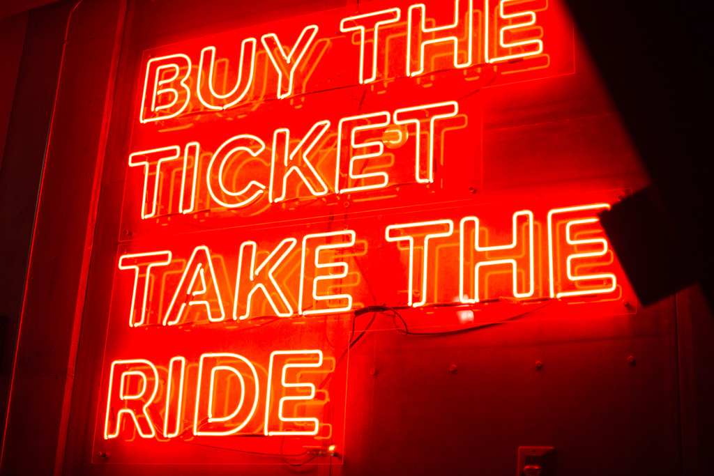 Buy the Ticket  by kph129