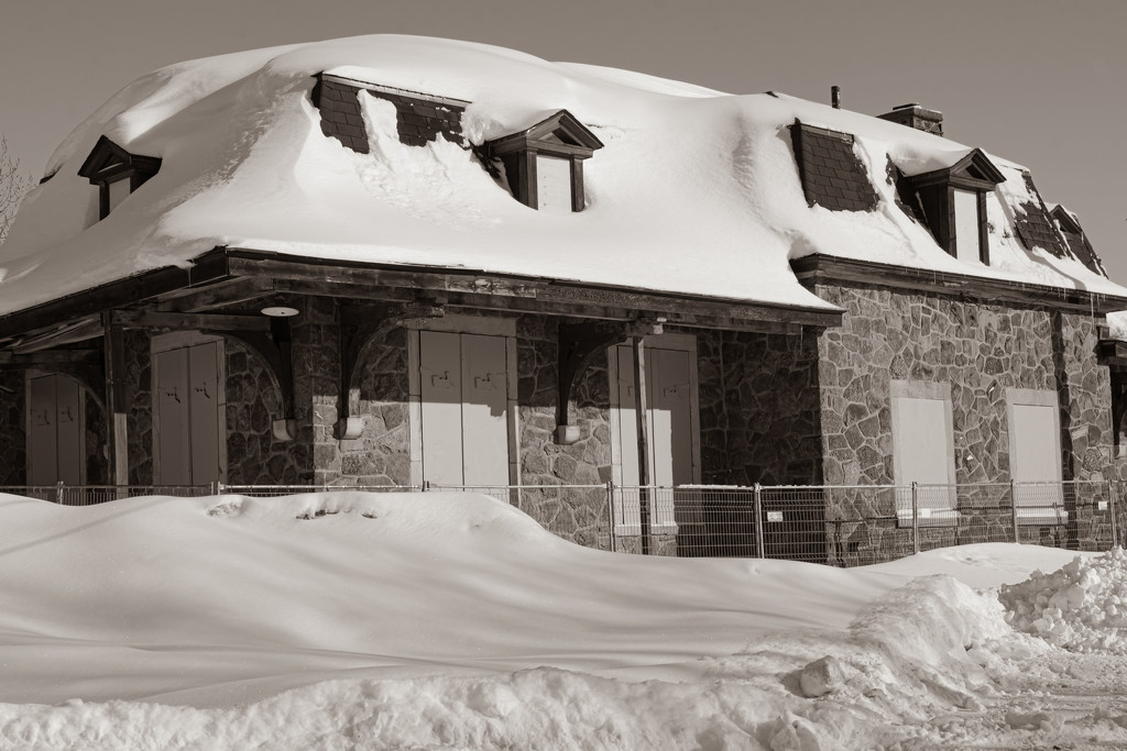 Rigaud Train Station  by farmreporter