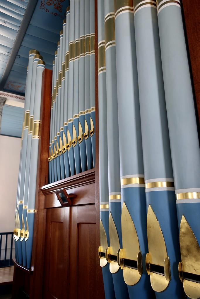St Paul's organ pipes  by louannwarren