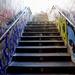16th Feb Leake St steps