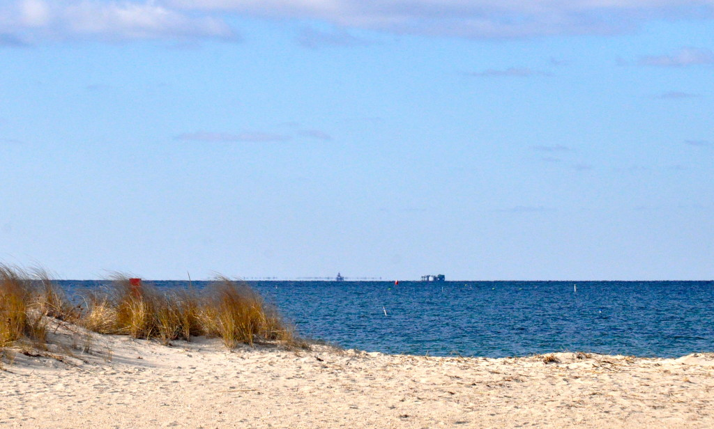 Traffic coming up Buzzards Bay by sailingmusic