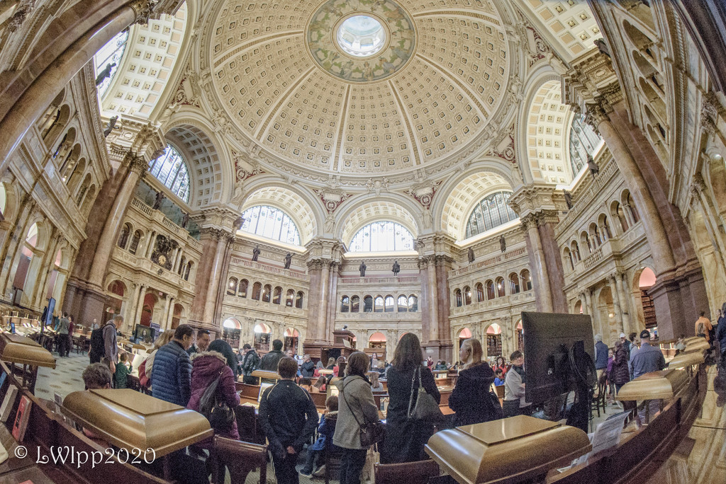 Library Of Congress  by lesip