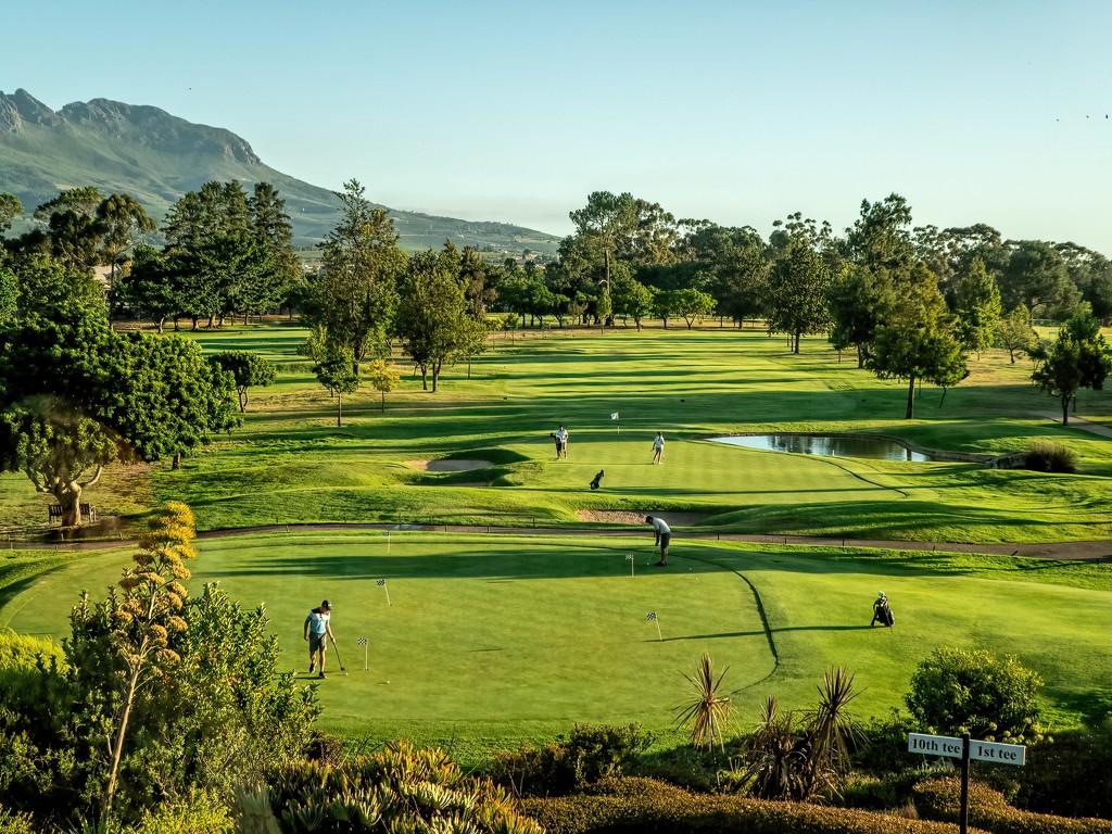 Stellenbosch golf club by ludwigsdiana