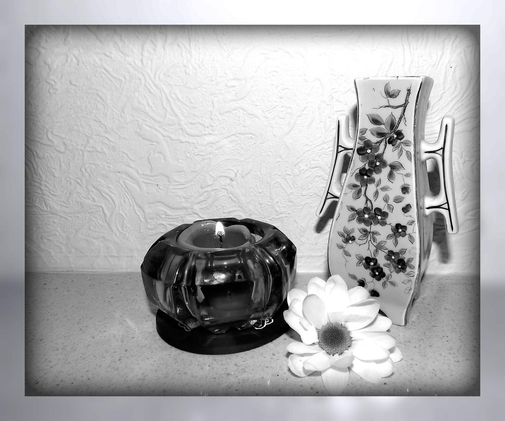 Cherry blossom Vase  by beryl