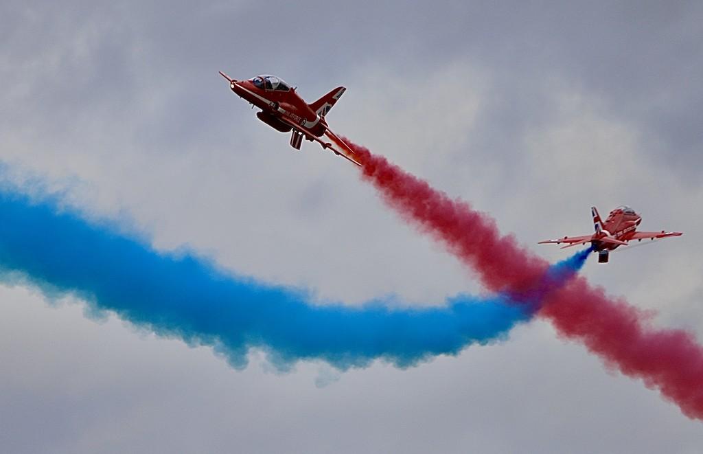 Coloured smoke on! by carole_sandford