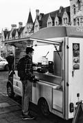18th Feb 2020 - Food truck B&W