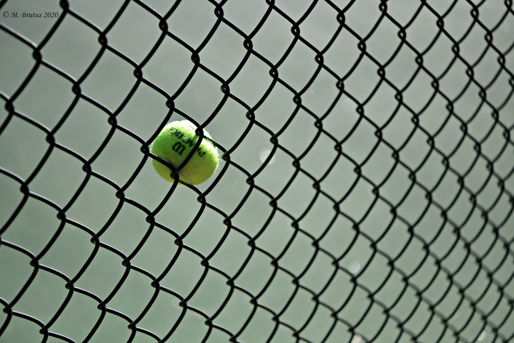 Ball and Chainlink by mbrutus