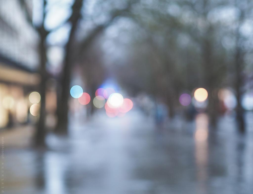 wet street by pistache