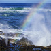 Surf, Spout and Rainbow by jgpittenger