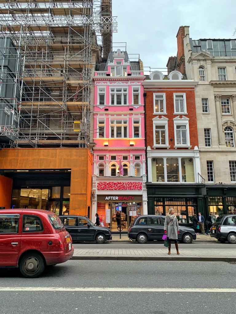 The pink building.  by cocobella