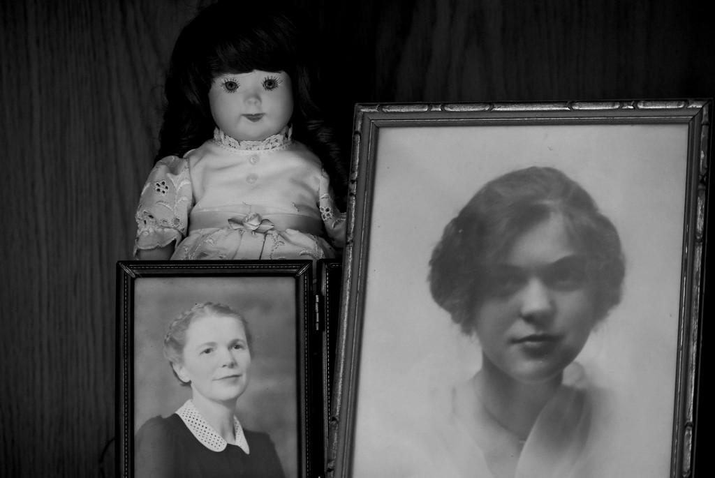 My Maternal Grandmother by bjywamer