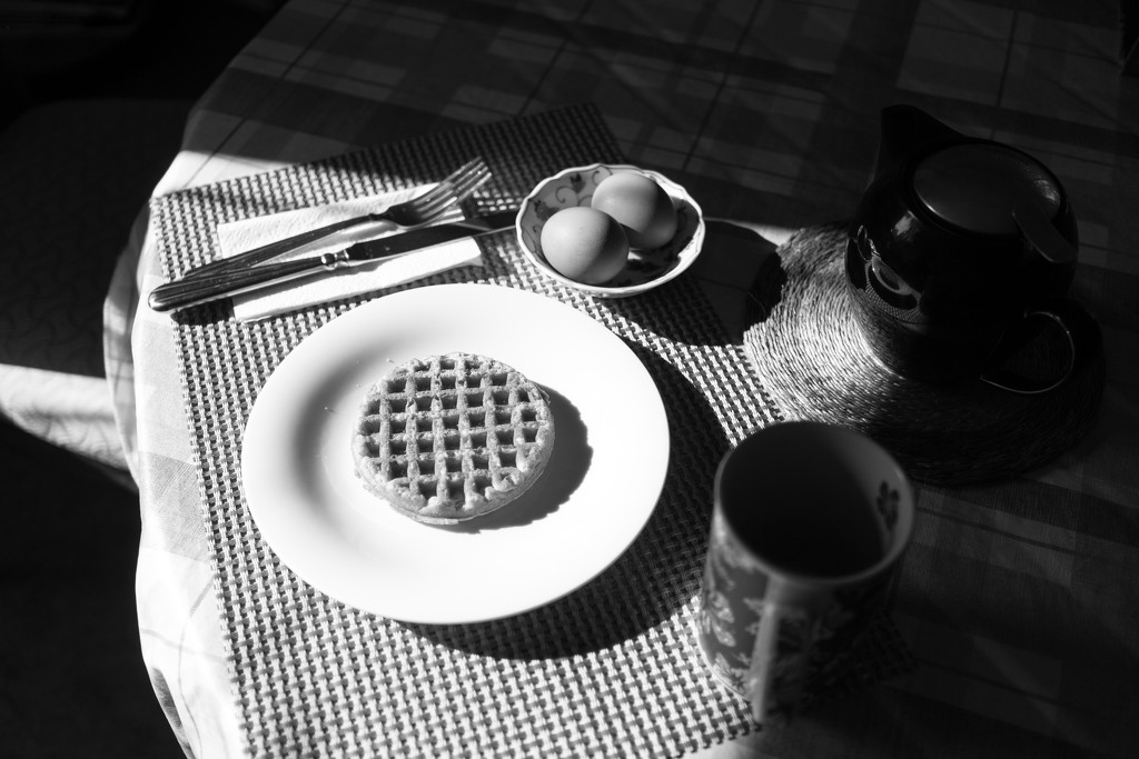 Crosshatch breakfast by cristinaledesma33