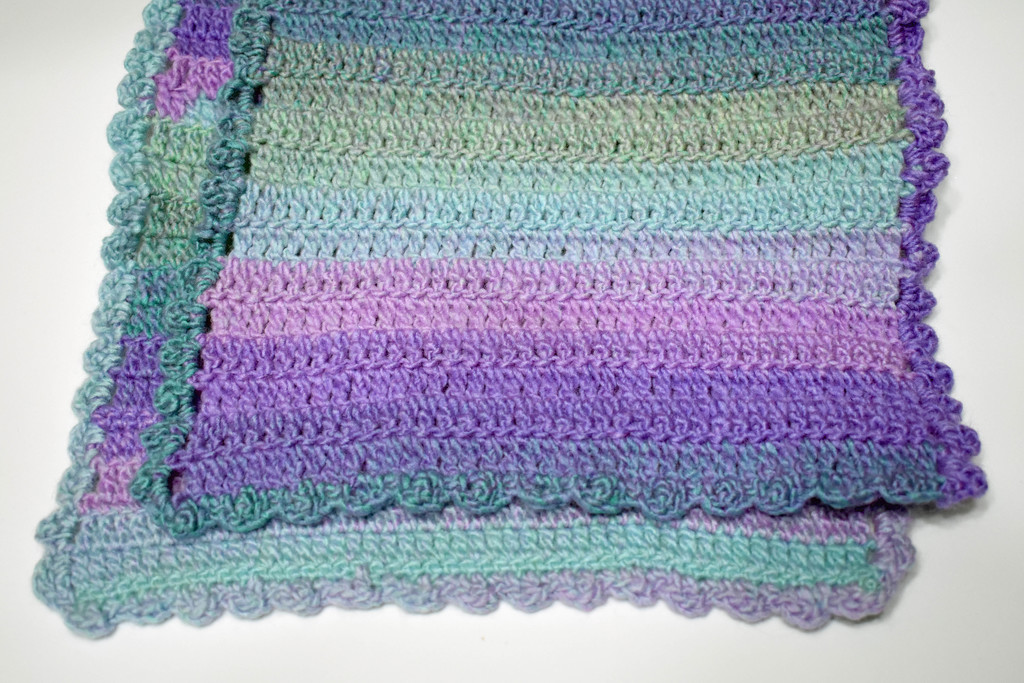 Frilly scarf by homeschoolmom