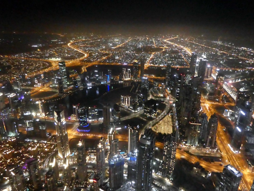 View from the Burj Khalifa by cmp