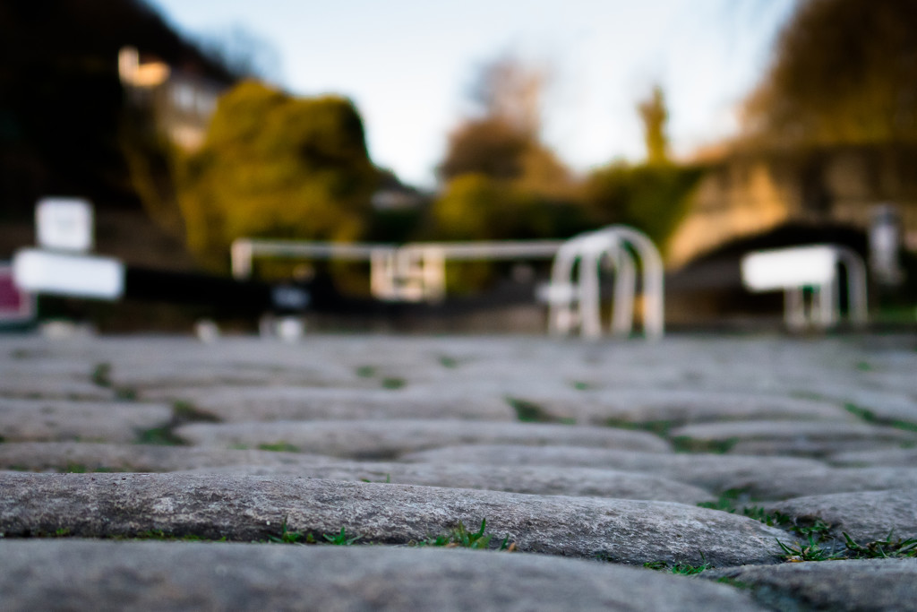 Cobbles at the lock by peadar