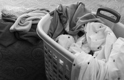 21st Feb 2020 - Time to fold the wash
