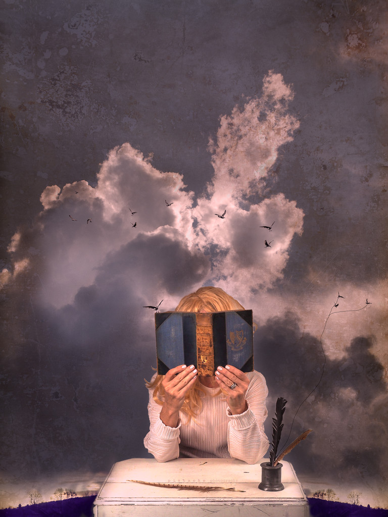 head. in a book. in the clouds by pistache