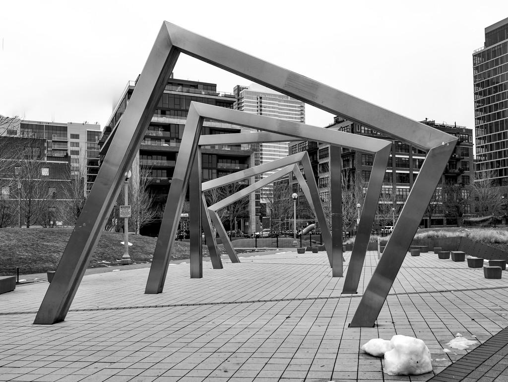 Bartelme Park Misting Sculpture by taffy