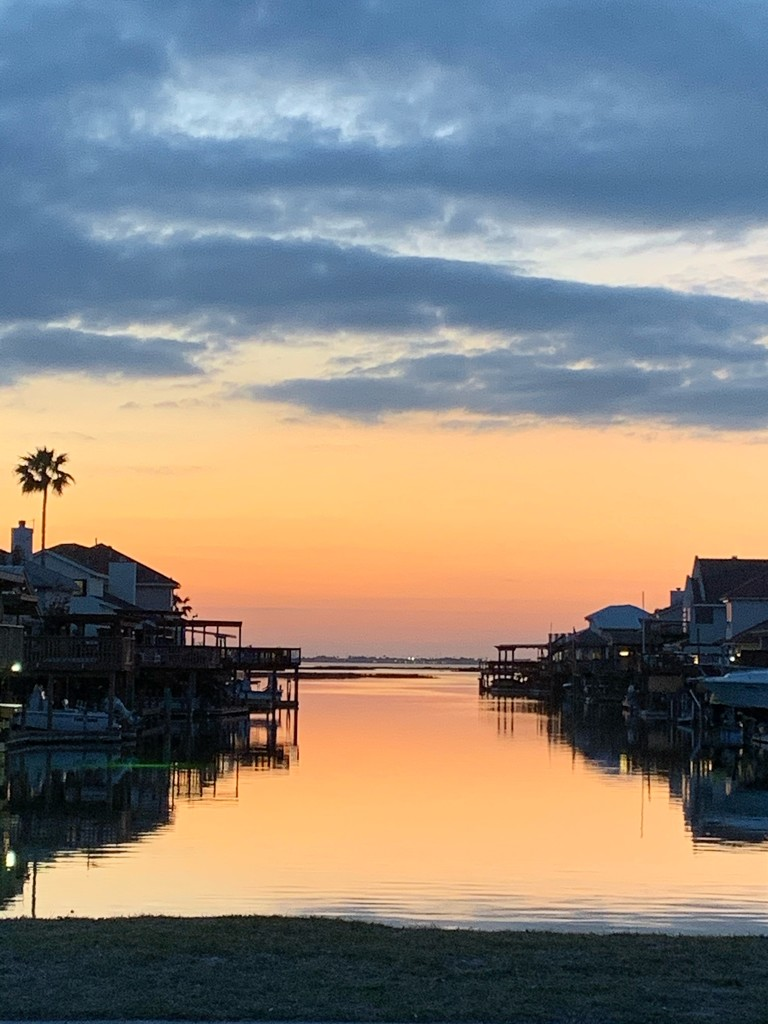 Twilight on the Gulf of Mexico by louannwarren