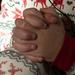 Little hands...