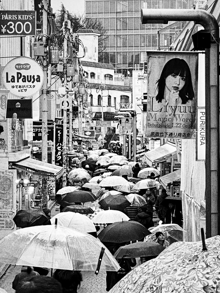 Umbrellas on Takeshita Doori  by jyokota
