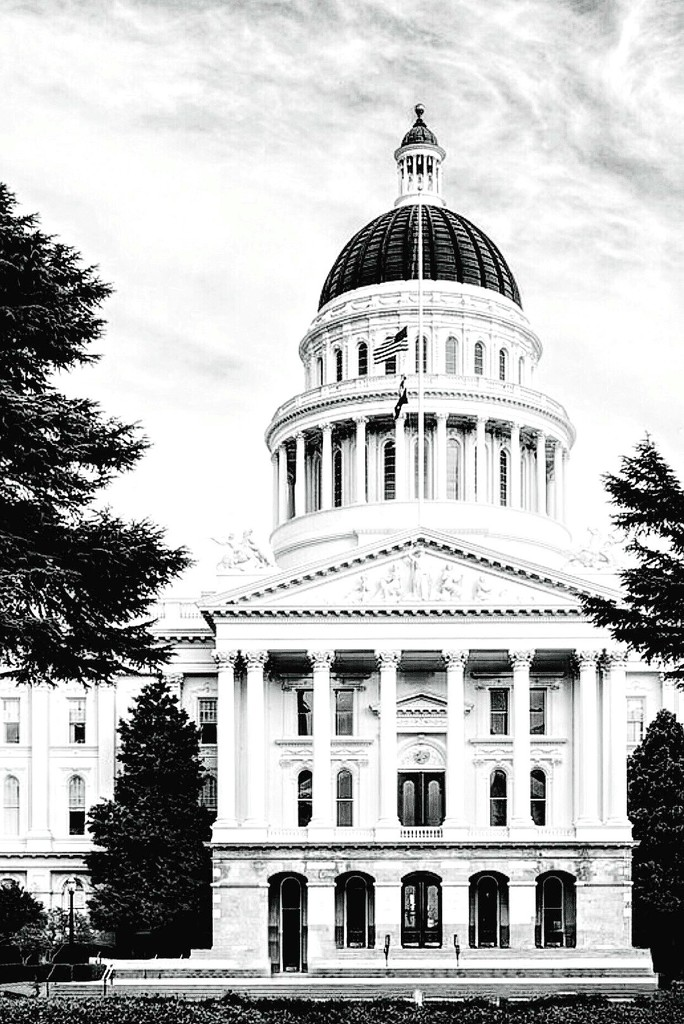 California State Capitol by gardenfolk