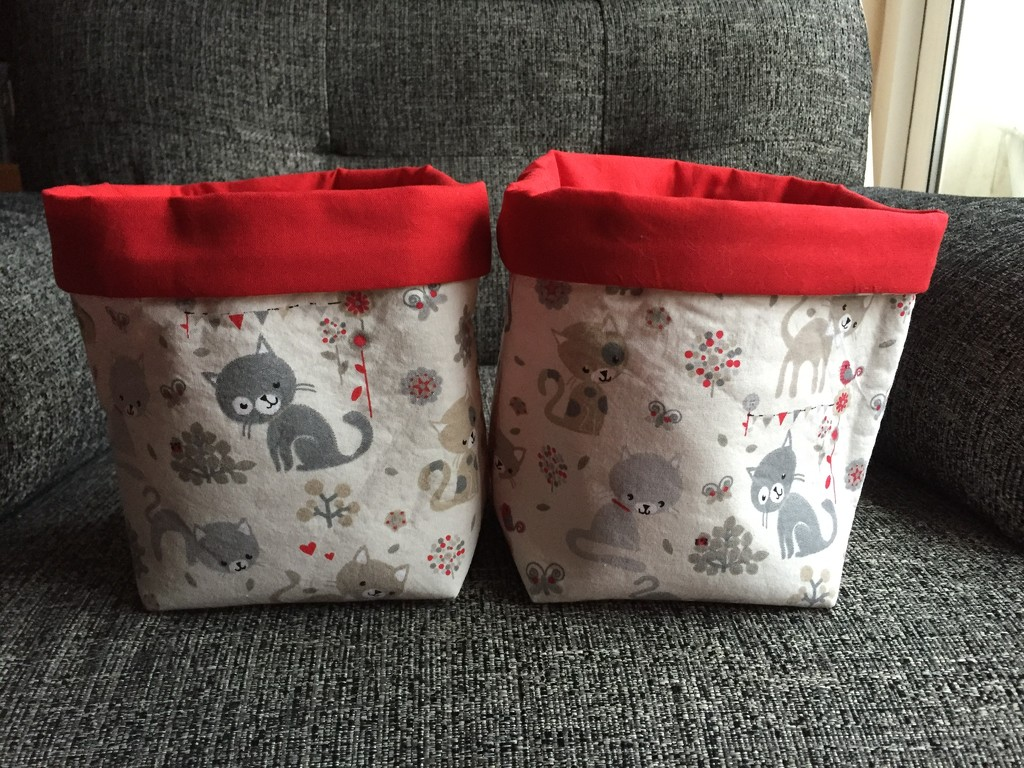 Fabric Bags by gillian1912