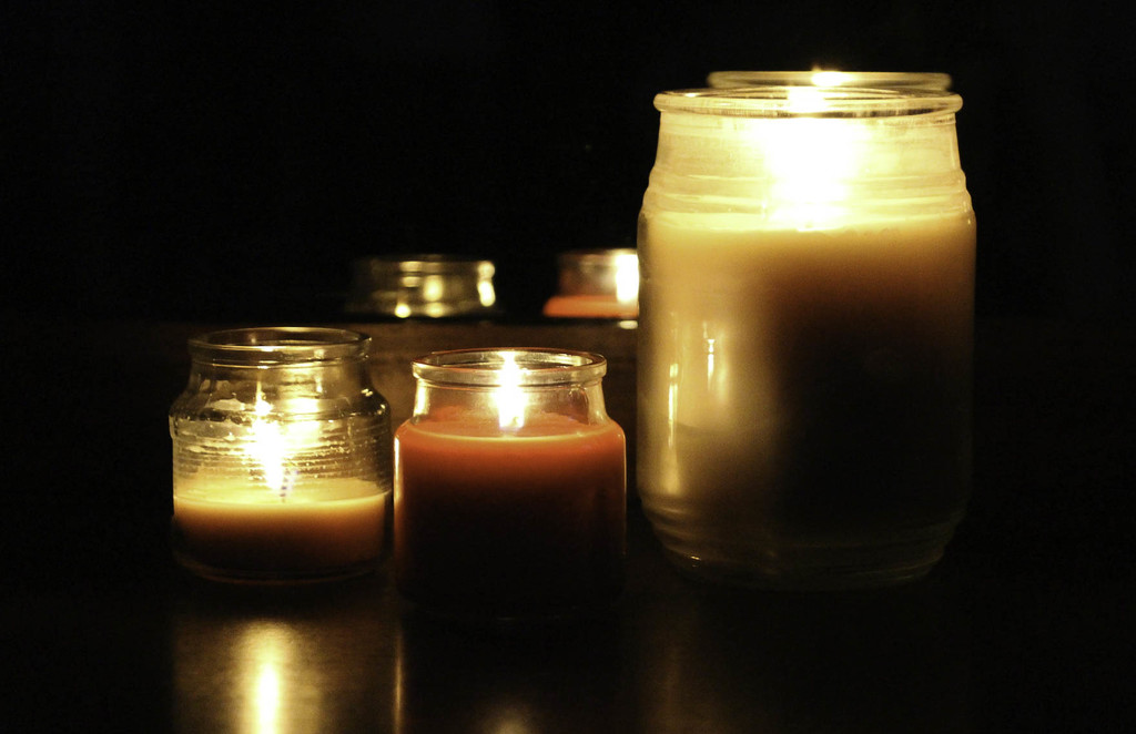 Candles, colored version by mittens
