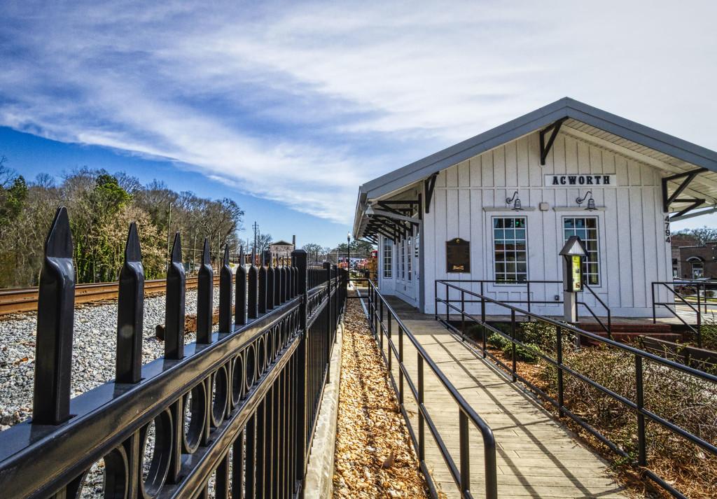 Acworth Train Station by kvphoto