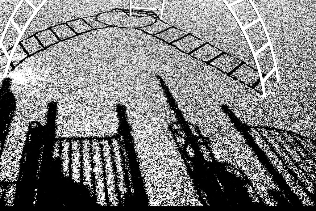 Shadows on the Playground by milaniet