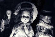 23rd Feb 2020 - Spooky dolls