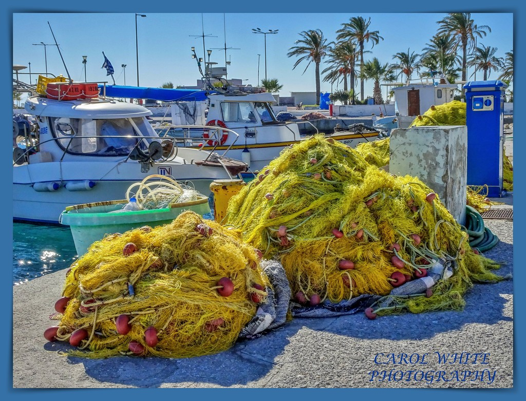 Fishing Nets,Kardamena,Kos by carolmw