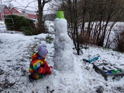 6th Jan 2020 - Feet for the Snowman
