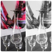 24th Feb 2020 -  Carafe with six liquor glasses