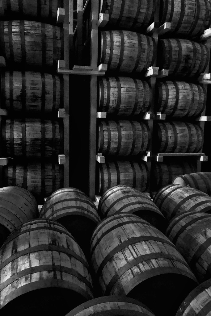 Whiskey Barrels by lsquared