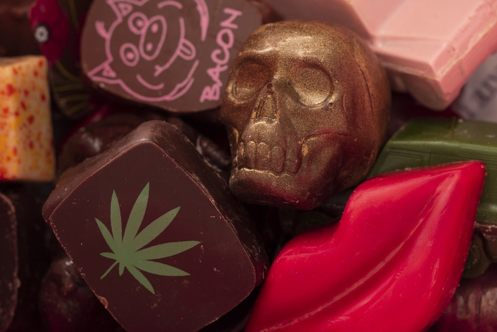 Chocolates from The Chocolate Line - Bruges by bizziebeeme