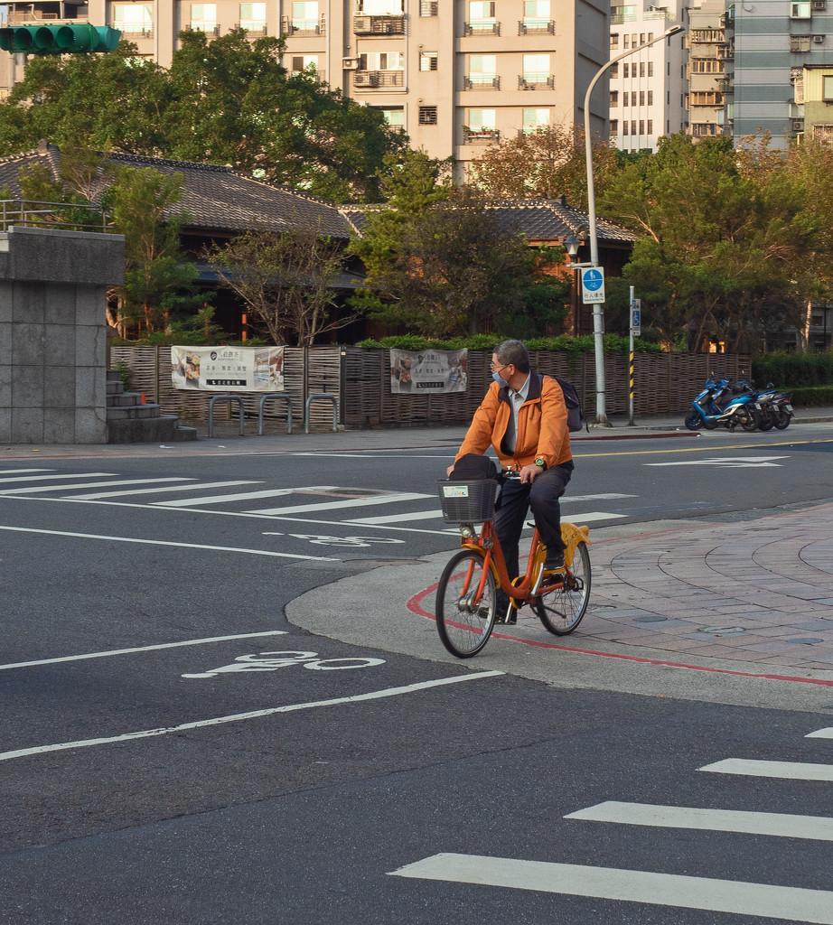 Lone Cyclist by ianjb21
