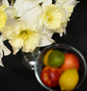 22nd Feb 2020 - Flowers over fruit