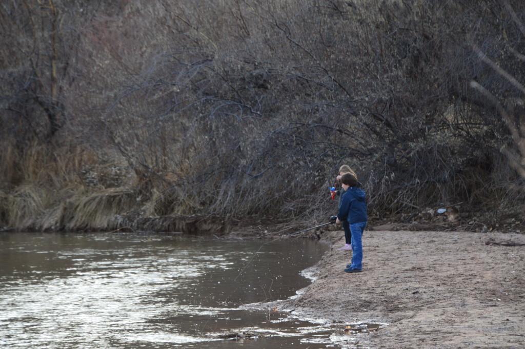 Fishing On The Rio grande. by bigdad