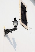16th Feb 2020 - Wall lamp and closed window....