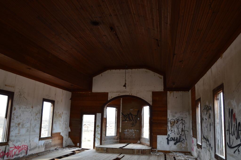 Inside the Presbyterian Church In Taiban, N.M. by bigdad