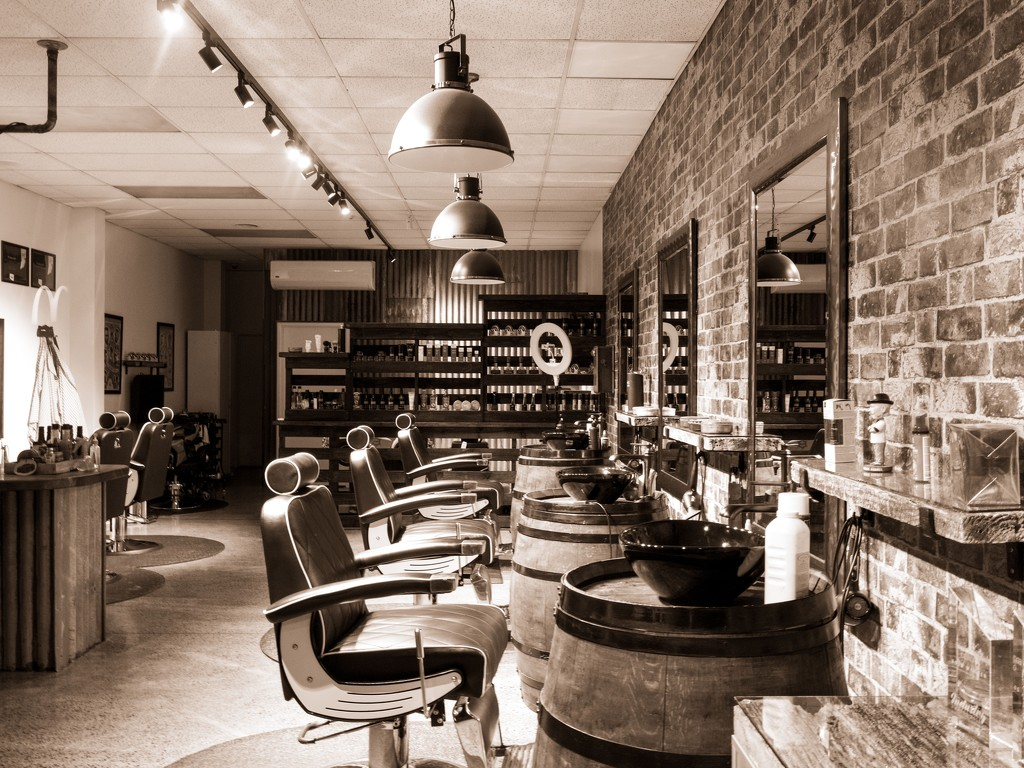 Barber Shop by yorkshirekiwi