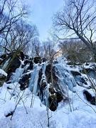 8th Feb 2020 - frozen waterfall